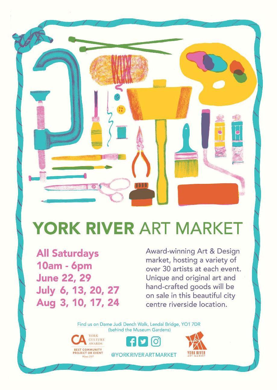 York River Art Market this Saturday!
