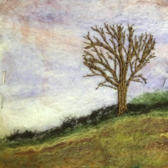 Creating textile landscapes with felting & embroidery